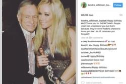 Kendra Wilkinson wishes Hugh Hefner a happy birthday