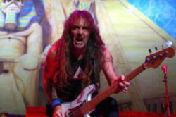 Iron Maiden bassist Steve Harris