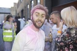 James Buckley partying with Bing