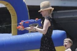 January Jones with son Xander