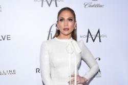 Jennifer Lopez in the studio with Drake