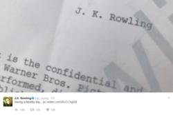 J.K. Rowling's Fantastic tease for magical sequel