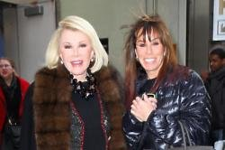Joan and daughter Melissa Rivers