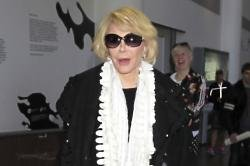 Joan Rivers resting after surgery