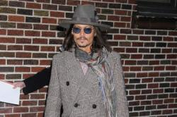 Johnny Depp Hires Homeless People as Extras