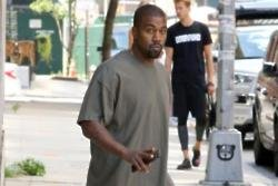 Kanye West falls asleep 'anywhere'