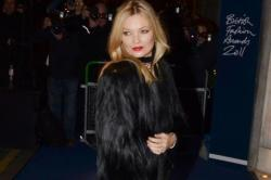 Kate Moss Parties In Paris