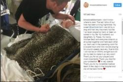 Kim Zolciak's son mauled by dog