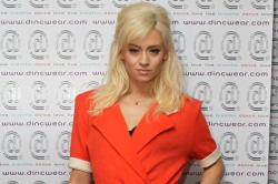 Kimberly Wyatt Supports Clothing Range