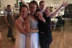 Kristen Stewart and Stella Maxwell crash wedding