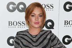 Lindsay Lohan at GQ Men of the Year Awards