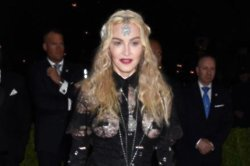 Madonna shocks fans at art exhibition