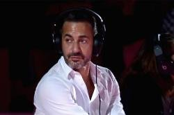 Marc Jacobs with his Beats by Dre on
