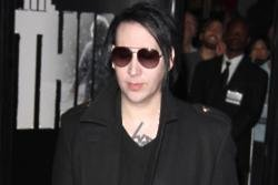 Marilyn Manson hospitalised