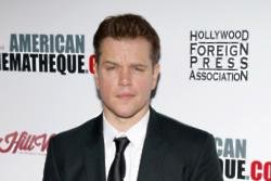 Matt Damon spanked himself during sex scene