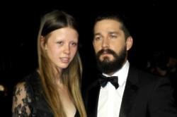 Shia LaBeouf and Mia Goth marry