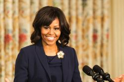 Michelle Obama lead the fashion workshop