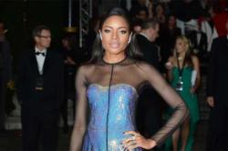 Naomie Harris at the royal 'Skyfall' premiere in London