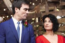 Natalie J. Robb and Jeff Hordley