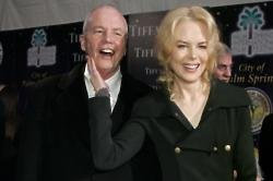 Nicole Kidman with her father, Dr Anthony Kidman