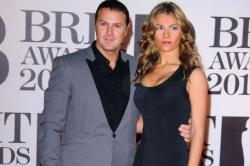 Paddy McGuinness with wife