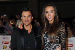 Peter Andre with Emily MacDonaugh