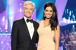 Phillip Schofield with Christine Bleakley