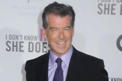 Pierce Brosnan would love to know his dad