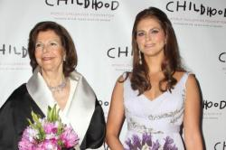 Seden's Queen Silvia and Princess Madeleine