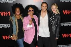 Diana Ross, Evan Ross and Ashlee Simpson