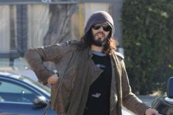 Russell Brand Insists he Didn't Hit or Injure Man with His Car