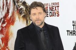 Russell Crowe Having A Busy Time In UK