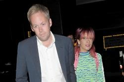 Sam Cooper and Lily Allen