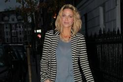 Sarah Harding Out And About In London