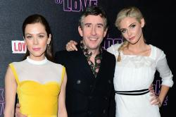 Steve Coogan, Anna Friel and Tamsin Egerton at 'The Look of Love' premiere