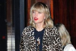 Taylor Swift shoots music video at London kebab shop