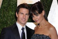 Katie Holmes and ex-husband Tom Cruise
