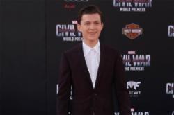 Tom Holland - Captain America Civil War Premiere