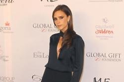 Victoria Beckham joins David for gruelling workout in public gym