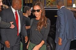 Victoria Beckham has been working hard to open her first store
