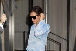 Victoria Beckham struggles styling herself during Fashion Week