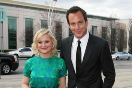 when did will arnett and amy poehler start dating