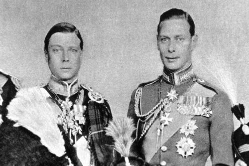 king edward viii and george vi relationship