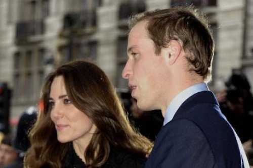 Britain's Prince William and Duchess Catherine