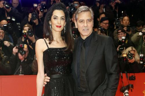 Amal Clooney nominated for Celebrity Mum of the Year