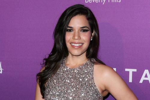 America Ferrera's son is more important than her shape