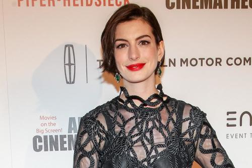 Anne Hathaway Was A Day Late To Matthew McConaughey's Party