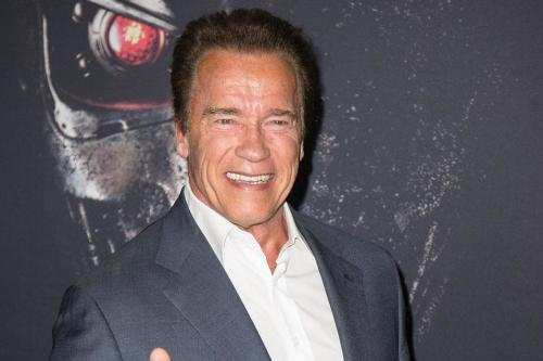 Arnold Schwarzenegger pleased with Chris Pratt