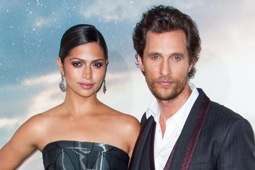 Matthew McConaughey thought wife would reject proposal