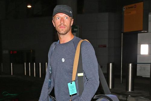 Chris Martin & Gwyneth Paltrow Spent Weekend In Hamptons